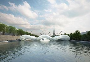 Trampolines-and-Floating-Bridge-over-the-Seine-in-Paris-1